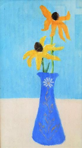 Zmeták Ernest, Žlté kvety